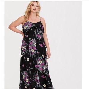 Torrid maxi dress. Size 2!